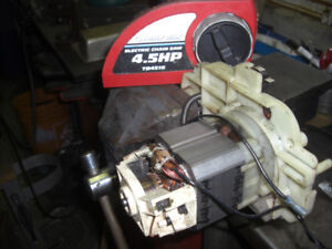 4 1/2 HP Troy Bilt Electric Chainsaw Motor