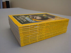 National Geographic Magazine Collection from 1994 to 2003