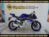 2015 15 YAMAHA YZF-R125 ABS 125CC 0% DEPOSIT FINANCE AVAILABLE