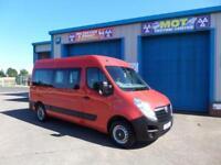 Vauxhall Movano F3500 L2H2 COMBI 9 seat Bus CDTI 6 speed