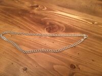 Sterling Sliver Curb Chain