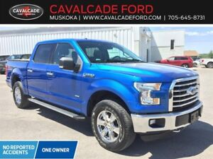 2016 Ford F150 4x4 - Supercrew  XLT, MOONROOF, NAV, REMOTE START