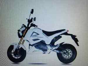 BRAND NEW ELECTRIC MOTORCYCLE WITH CHARGER