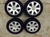 Genuine Audi alloy wheels 5 X 112