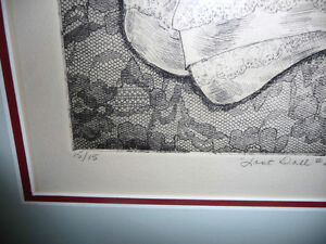 "Dundas Artist Helen Ness, ""Last Doll #2""   L/E 15/15,1980 Stratford Kitchener Area image 8"