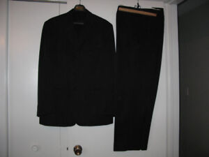 Men's and boys suits, men's trench coat and wool sports jacket