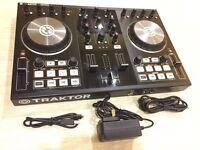 Traktor S2 MK2 DJ Controller with full copy of Traktor Pro2 Software