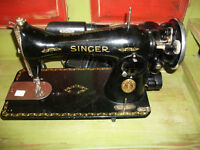 machine a coudre Signer antique