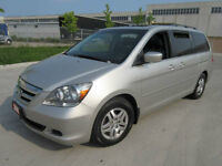 2007 Honda Odyssey EXL,8 Pass, Leather,roof, up to 3 years warr.
