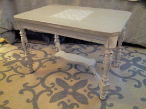 Shabby Chic Inspired Side Table