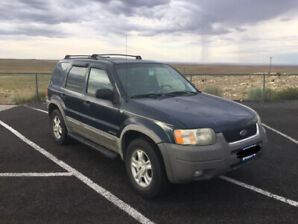 2002 Ford Escape XLT 2WD 3.0 L V6 SUV