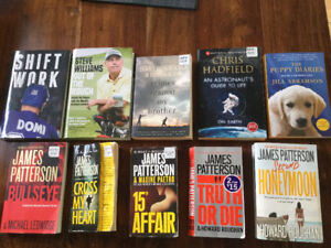 Books, various authors