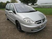 2005 CITROEN C8 2.0HDI 16V SX MANUAL DIESEL 5 DOOR MPV 7 SEATS