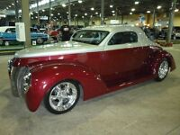 Rare 1940 Ford 3 Window Coupe