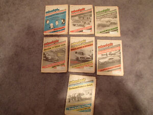 Collection of 6 Vintage WHEELSPIN NEWS Canada's Motorsport News