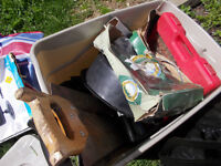 mixed saws and assortment of misc $15take all