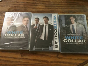 Complete WHITE COLLAR dvd collection