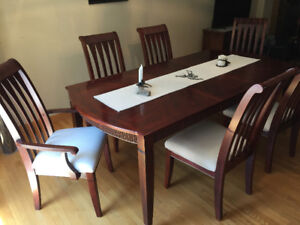 Cherrywood Table & Chairs