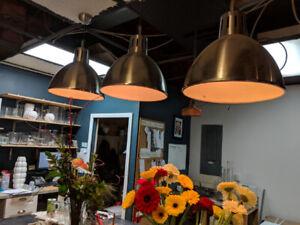 TRÈS BEAUX Luminaires style industriel à vendre