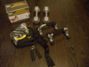 Exercise weights and workout set!!!!