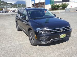 Lease Take Over - 2018 Volkswagen Tiguan Highline (Fully Loaded)