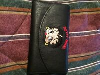 Betty Boop leather wallet
