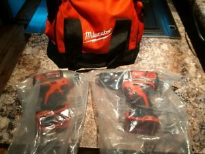 Milwaukee M18 New Never Used Drill Driver Kit