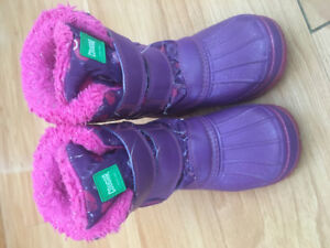 Cougar toddler boots size 9