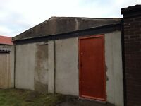 Secure garage workshop storage available in Horfield