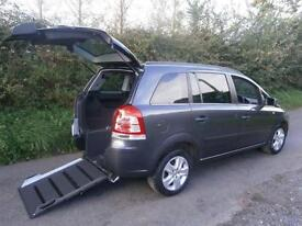 2011 Vauxhall Zafira 1.8i Exclusiv 5dr AUTOMATIC WHEELCHAIR ACCESSIBLE VEHICL...