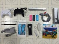 WII Accessories - Power Bar / Wireless Controllers / Sensor