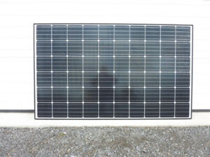 300 and 330W solar panels for sale. brand new on skids