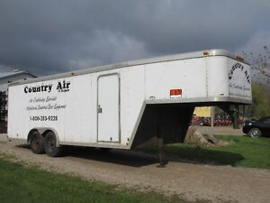 featherlite gooseneck trailer