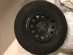Winter Tires with wheels for Jeep Wrangler - Dunlop Winter Maxx