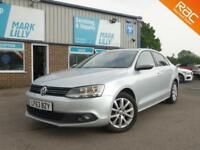 2013 Volkswagen Jetta 1.6TDI DIESEL Limited Edition A GOLF WITH A BOOT ! 41K