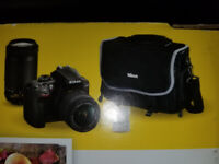 REWARD FOR RECOVERY: NIKON D3400 camera and accessories