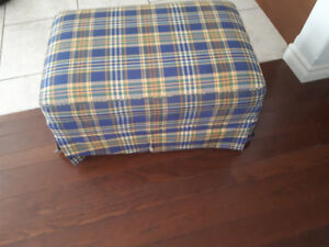 Ottoman (excellent shape) - perfect for a family room