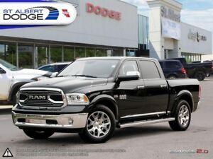2017 Ram 1500 Limited  HEATED/VENTED LEATHER | SUNROOF | POWER M