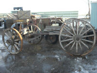 Vintage Wagon Frames/ Buick Truck.... Wagons $600.00 Each