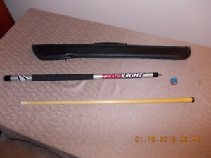 Pool Cue with Case