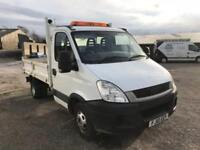 IVECO DAILY 50C18 White Manual Diesel, 2010 80,000 MILE TIPPER