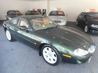 Jaguar XK8 V8 COUPE (sherwood green) 1996