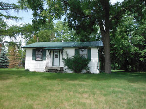 2 Bedroom house for rent with large yard