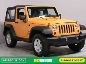 2013 Jeep Wrangler Sport MAGS SOFT TOP