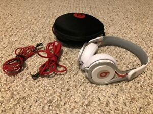 Beats by Dr. Dre Mixr On-Ear Headphones - White/Red