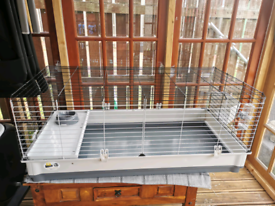 Ferplast Rabbit Cage Krolik 120 X-Large 120x60x50 cm Grey