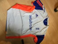 Adidas England Cricket Training Top - Size 2XL 52/54 chest - Excellent Condition