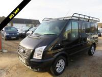 2012 62 FORD TRANSIT 2.2 TDCI 280 LIMITED SWB LOW ROOF 140 BHP NO VAT 72114 MILE