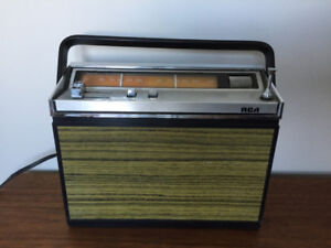 Radio Portable Vintage RCA Am/Fm Cassette