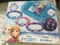 Frozen bracelet glow in the Dark set beads jewellery